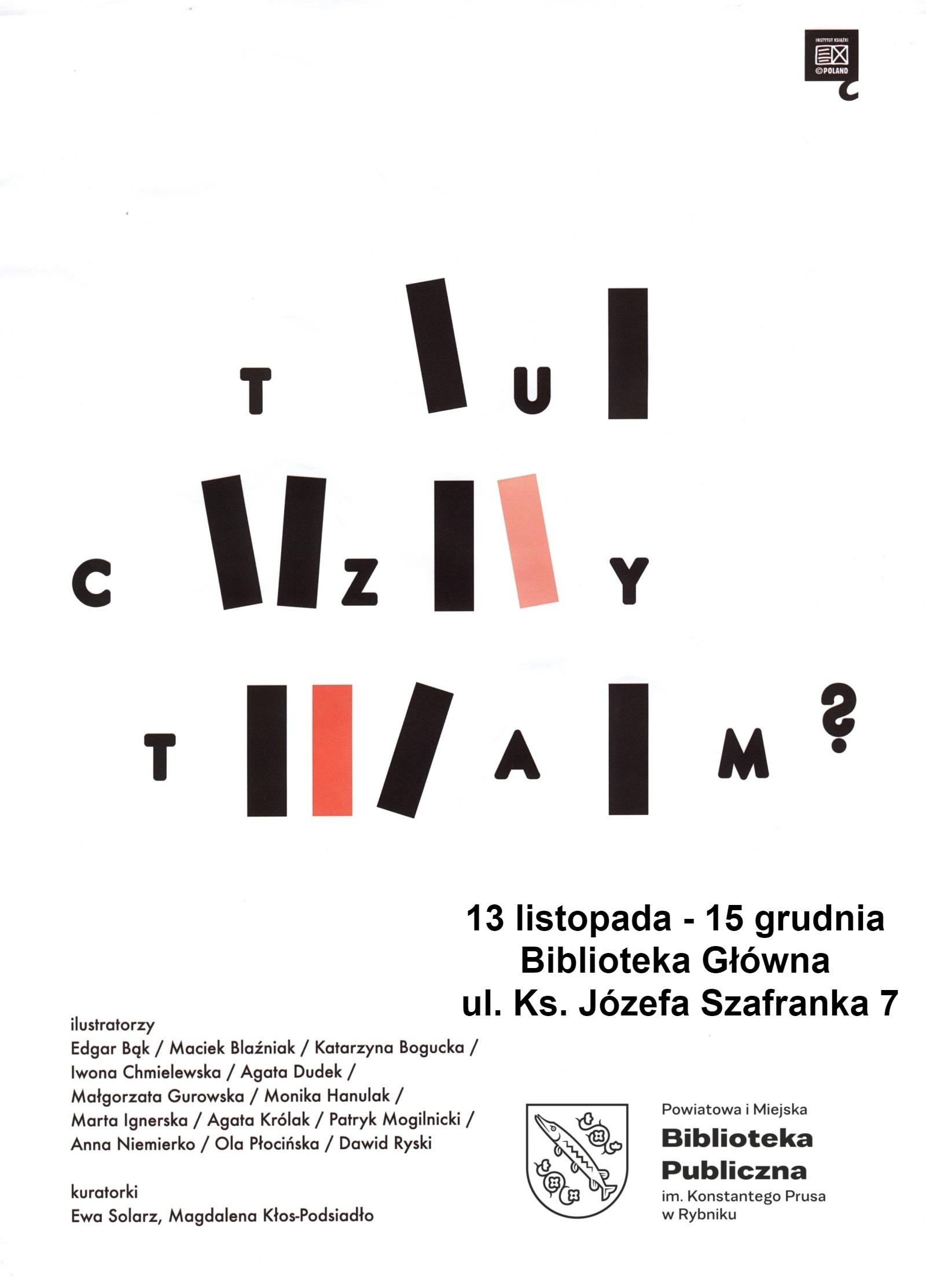 Biblioteka Główna Zaprasza Na Wystawę Współczesnej Polskiej